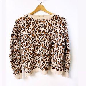 H&M | Leopard Print Sweater